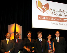 Kevin Ritter with Anisfield-Wolf Book Awards winners