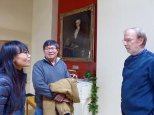 Meng,Dad&LeeatRainey