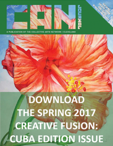 Cover image of CAN Journal Spring 2017 issue