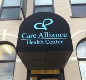 Care Alliance Health Center building Cleveland