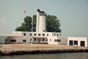 Historic US Coast Guard Station in Cleveland