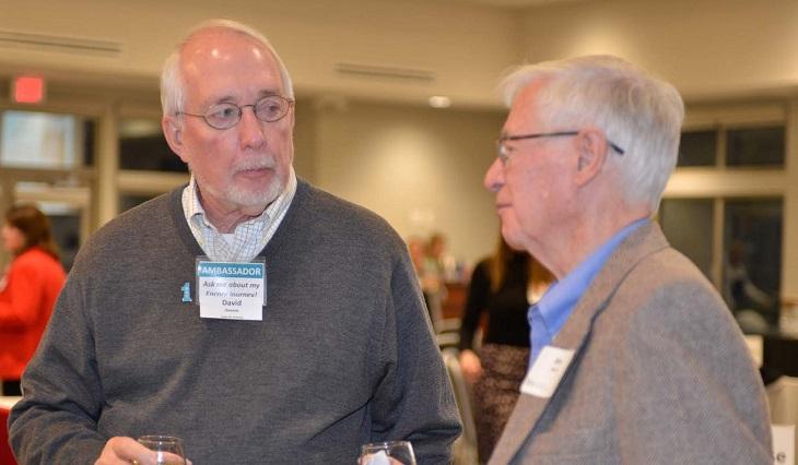 Encore Mentor David Devore talks to a new mentor