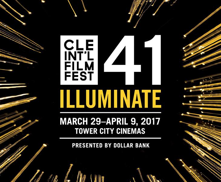 Logo for 41st Annual Cleveland International Film Festival