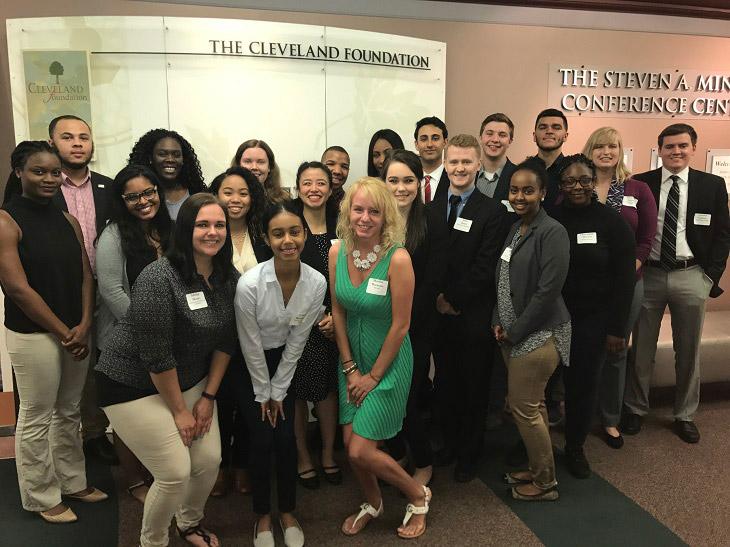 Cleveland Foundation Summer Interns