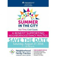 Graphic for NFP Summer in the City event