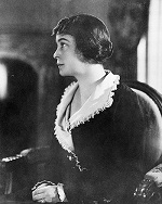 Black and white portrait of Edith Anisfield Wolf